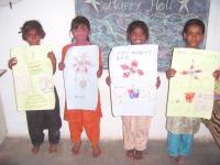 Children Painting Rahimngr, Bhuj 001